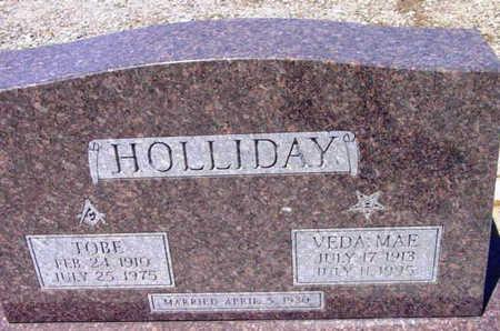 HOLLIDAY, RAYMOND TOLE (TOBE) - Yavapai County, Arizona | RAYMOND TOLE (TOBE) HOLLIDAY - Arizona Gravestone Photos