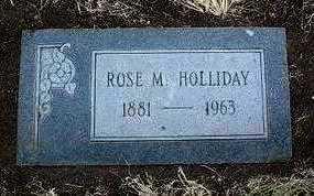 HOLLIDAY, ROSE MARY - Yavapai County, Arizona   ROSE MARY HOLLIDAY - Arizona Gravestone Photos