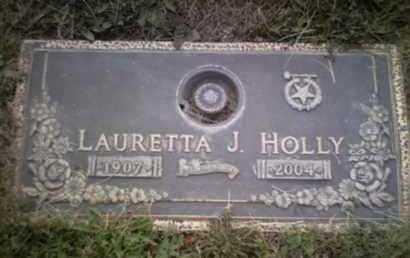 HOLLY, LAURETTA JEANETTE - Yavapai County, Arizona | LAURETTA JEANETTE HOLLY - Arizona Gravestone Photos