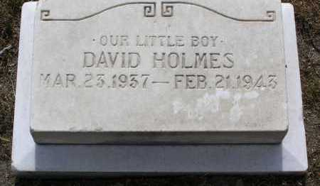 HOLMES, DAVID LEONARD - Yavapai County, Arizona | DAVID LEONARD HOLMES - Arizona Gravestone Photos