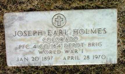 HOLMES, JOSEPH EARL - Yavapai County, Arizona | JOSEPH EARL HOLMES - Arizona Gravestone Photos