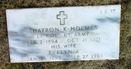 HOLMES, THAYRON KYLE - Yavapai County, Arizona | THAYRON KYLE HOLMES - Arizona Gravestone Photos