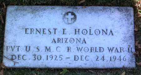 HOLONA, ERNEST E. - Yavapai County, Arizona | ERNEST E. HOLONA - Arizona Gravestone Photos