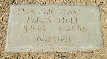 DRAKE HOLT, ELSIE KATE - Yavapai County, Arizona | ELSIE KATE DRAKE HOLT - Arizona Gravestone Photos