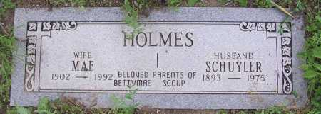 HOLMES, SCHUYLER - Yavapai County, Arizona   SCHUYLER HOLMES - Arizona Gravestone Photos