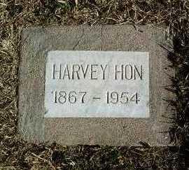 HON, HARVEY THOMAS - Yavapai County, Arizona | HARVEY THOMAS HON - Arizona Gravestone Photos