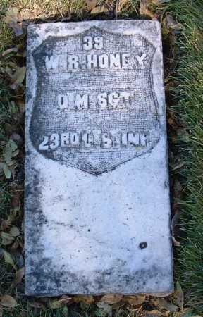 HONEY, WILLIAM R. - Yavapai County, Arizona   WILLIAM R. HONEY - Arizona Gravestone Photos