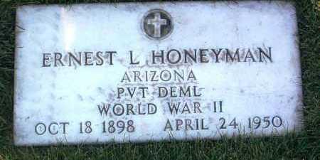 HONEYMAN, ERNEST LEE - Yavapai County, Arizona   ERNEST LEE HONEYMAN - Arizona Gravestone Photos