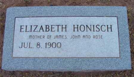 HONISCH, ELIZABETH - Yavapai County, Arizona | ELIZABETH HONISCH - Arizona Gravestone Photos