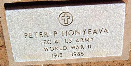 HONYEAVA, PETER P. - Yavapai County, Arizona | PETER P. HONYEAVA - Arizona Gravestone Photos