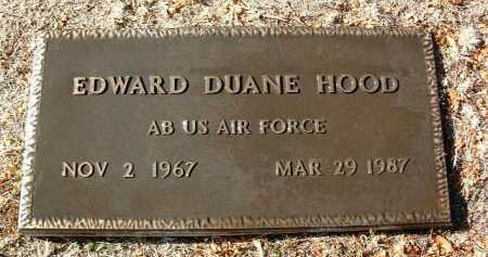HOOD, EDWARD DUANE - Yavapai County, Arizona | EDWARD DUANE HOOD - Arizona Gravestone Photos
