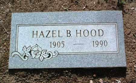 HOOD, HAZEL BERNICE - Yavapai County, Arizona   HAZEL BERNICE HOOD - Arizona Gravestone Photos