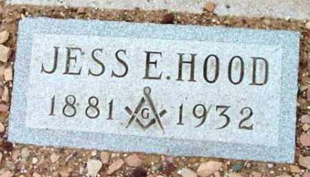 HOOD, JESS EDWARD - Yavapai County, Arizona | JESS EDWARD HOOD - Arizona Gravestone Photos