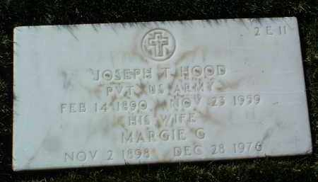HOOD, JOSEPH T. - Yavapai County, Arizona | JOSEPH T. HOOD - Arizona Gravestone Photos