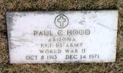 HOOD, PAUL CHRISTY - Yavapai County, Arizona   PAUL CHRISTY HOOD - Arizona Gravestone Photos