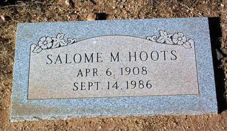 HOOTS, SALOME MATILDA - Yavapai County, Arizona | SALOME MATILDA HOOTS - Arizona Gravestone Photos
