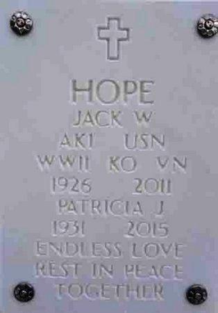 HOPE, PATRICIA JANE - Yavapai County, Arizona | PATRICIA JANE HOPE - Arizona Gravestone Photos