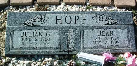 HOPF, JULIAN G. - Yavapai County, Arizona | JULIAN G. HOPF - Arizona Gravestone Photos