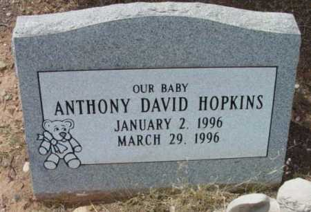 HOPKINS, ANTHONY DAVID - Yavapai County, Arizona   ANTHONY DAVID HOPKINS - Arizona Gravestone Photos
