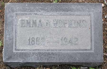 HOPKINS, EMMA B. - Yavapai County, Arizona   EMMA B. HOPKINS - Arizona Gravestone Photos