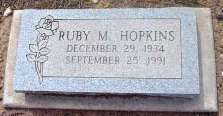HOPKINS, RUBY MAE - Yavapai County, Arizona | RUBY MAE HOPKINS - Arizona Gravestone Photos