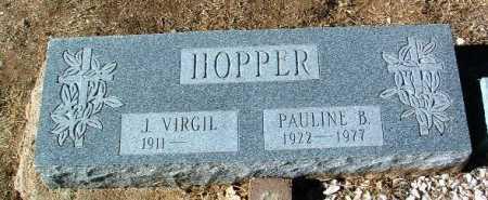 HOPPER, J. VIRGIL - Yavapai County, Arizona | J. VIRGIL HOPPER - Arizona Gravestone Photos