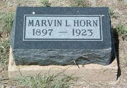HORN, MARVIN LEWIS - Yavapai County, Arizona | MARVIN LEWIS HORN - Arizona Gravestone Photos