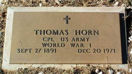 HORN, THOMAS - Yavapai County, Arizona   THOMAS HORN - Arizona Gravestone Photos