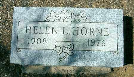 HORNE, HELEN L. - Yavapai County, Arizona | HELEN L. HORNE - Arizona Gravestone Photos