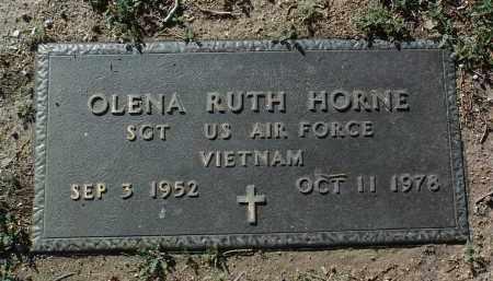 HORNE, OLENA RUTH - Yavapai County, Arizona | OLENA RUTH HORNE - Arizona Gravestone Photos