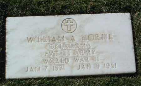 HORNE, WILLIAM ALBERT - Yavapai County, Arizona | WILLIAM ALBERT HORNE - Arizona Gravestone Photos