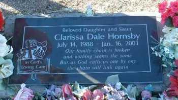 HORNSBY, CLARISSA DALE - Yavapai County, Arizona | CLARISSA DALE HORNSBY - Arizona Gravestone Photos