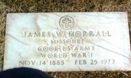 HORRALL, JAMES W. - Yavapai County, Arizona | JAMES W. HORRALL - Arizona Gravestone Photos