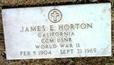 HORTON, JAMES EDGAR - Yavapai County, Arizona   JAMES EDGAR HORTON - Arizona Gravestone Photos