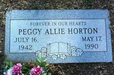 ALLIE HORTON, PEGGY E. - Yavapai County, Arizona   PEGGY E. ALLIE HORTON - Arizona Gravestone Photos