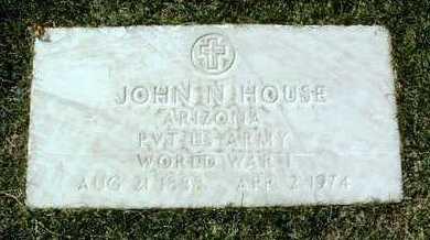 HOUSE, JOHN NEET - Yavapai County, Arizona | JOHN NEET HOUSE - Arizona Gravestone Photos