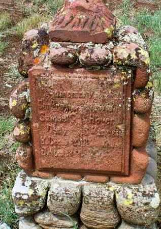 HOVER, NEWTON GREENBERRY - Yavapai County, Arizona | NEWTON GREENBERRY HOVER - Arizona Gravestone Photos