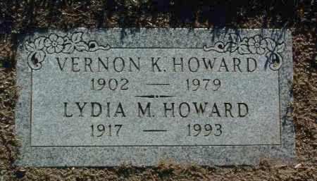 HOWARD, VERNON KURTZ - Yavapai County, Arizona   VERNON KURTZ HOWARD - Arizona Gravestone Photos