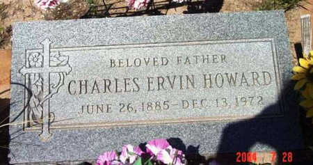 HOWARD, CHARLES ERVIN - Yavapai County, Arizona | CHARLES ERVIN HOWARD - Arizona Gravestone Photos