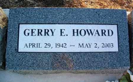 HOWARD, GERRY ERNEST - Yavapai County, Arizona | GERRY ERNEST HOWARD - Arizona Gravestone Photos