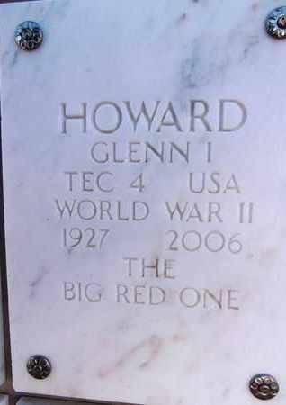 HOWARD, GLENN INMAN - Yavapai County, Arizona   GLENN INMAN HOWARD - Arizona Gravestone Photos