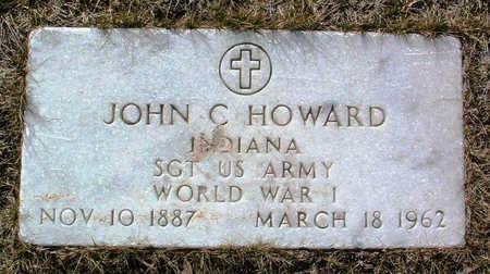 HOWARD, JOHN C. - Yavapai County, Arizona   JOHN C. HOWARD - Arizona Gravestone Photos