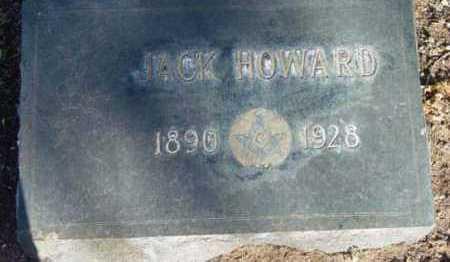 HOWARD, JACK - Yavapai County, Arizona   JACK HOWARD - Arizona Gravestone Photos
