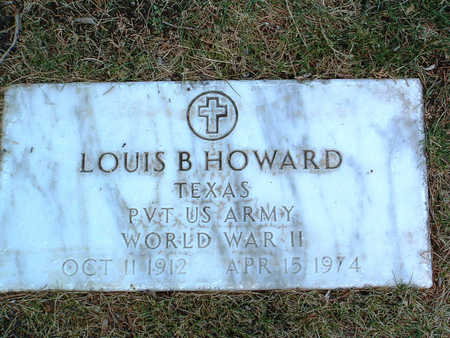 HOWARD, LOUIS B. - Yavapai County, Arizona   LOUIS B. HOWARD - Arizona Gravestone Photos