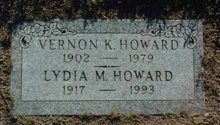 HOWARD, LYDIA M. - Yavapai County, Arizona   LYDIA M. HOWARD - Arizona Gravestone Photos