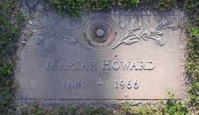 HOWARD, MARIAH - Yavapai County, Arizona | MARIAH HOWARD - Arizona Gravestone Photos