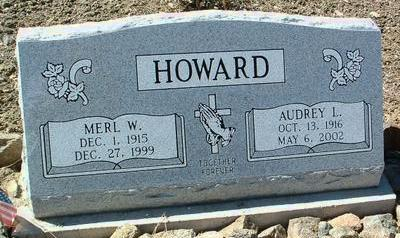 HOWARD, MERL W. - Yavapai County, Arizona   MERL W. HOWARD - Arizona Gravestone Photos