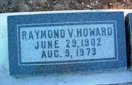 HOWARD, RAYMOND VINCENT - Yavapai County, Arizona | RAYMOND VINCENT HOWARD - Arizona Gravestone Photos