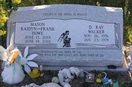 WALKER, D. RAY - Yavapai County, Arizona   D. RAY WALKER - Arizona Gravestone Photos