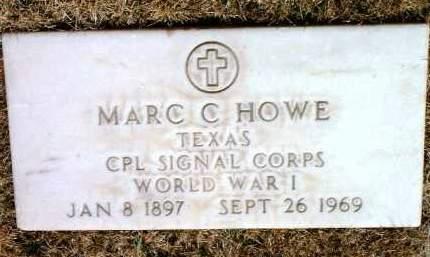 HOWE, MARC CLIFFORD - Yavapai County, Arizona | MARC CLIFFORD HOWE - Arizona Gravestone Photos